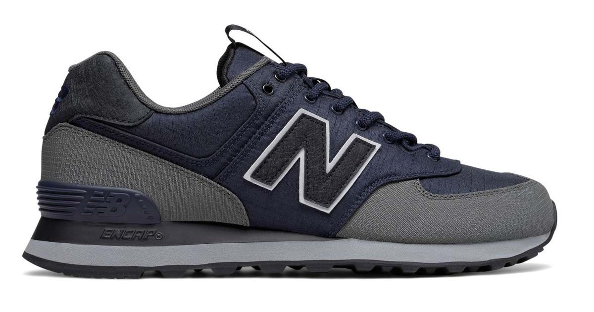 New Balance 574 Outdoor Blue & Grey Just 64 Shipped on