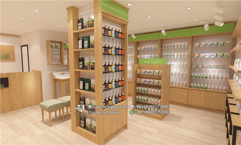 Natural Health Store Interior Design Store Design Interior