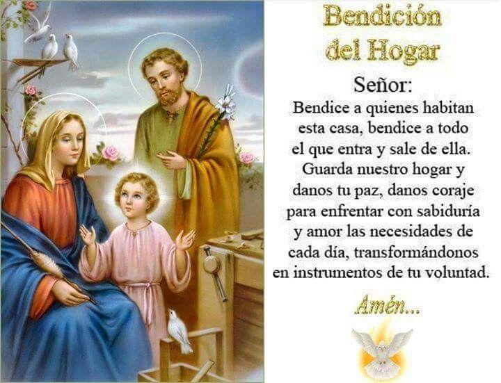 Bendicion Del Hogar Sanacion Espiritual Oraciones Frases