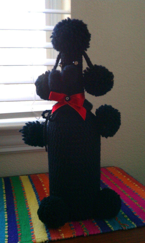 Vintage Poodle Crocheted Bottle Cover   Amigurumi   Pinterest