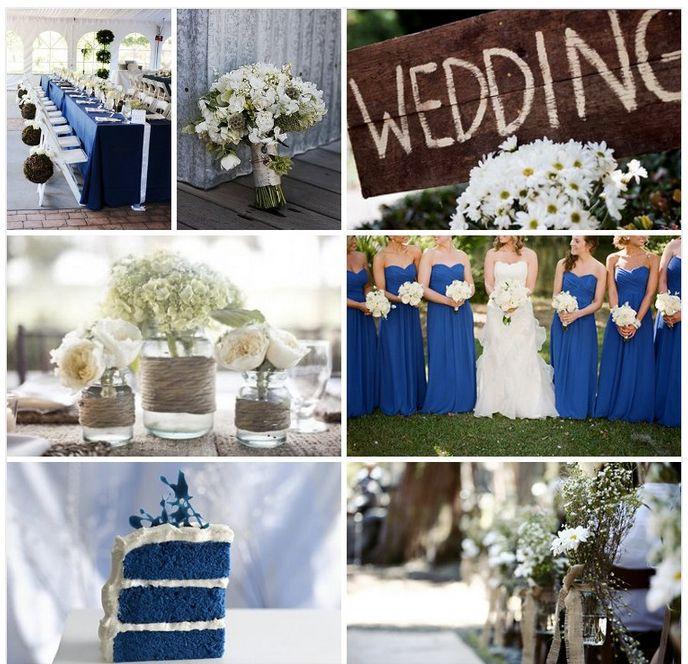 Rustic Royal Blue Wedding Rustic Wedding Blue Blue Country