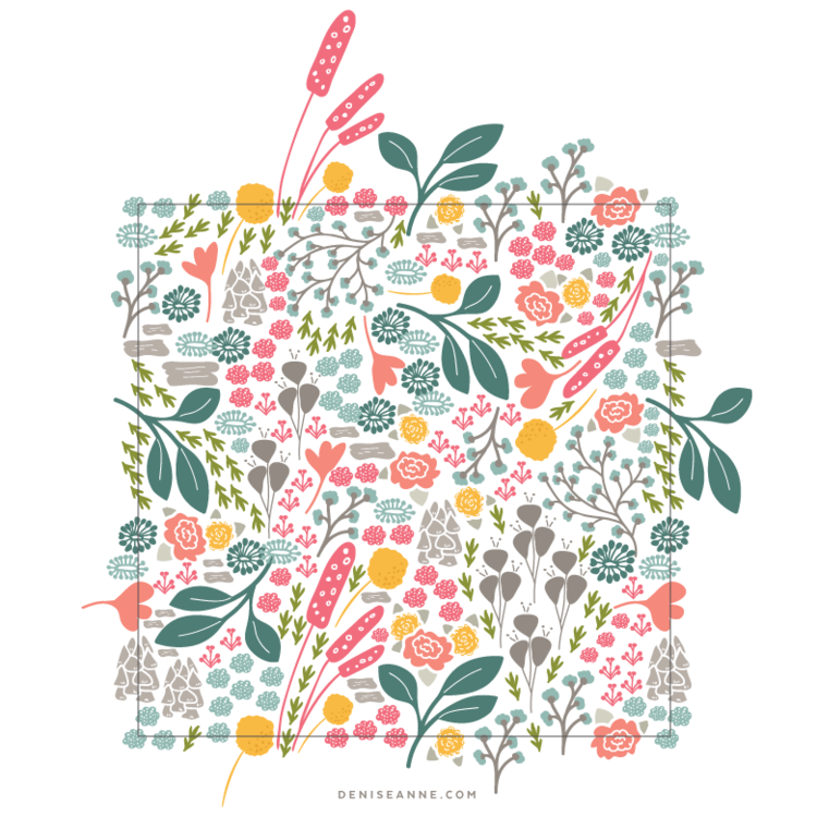 Creating a Pattern Collection: Pattern Repeat Types #surfacepatterndesign