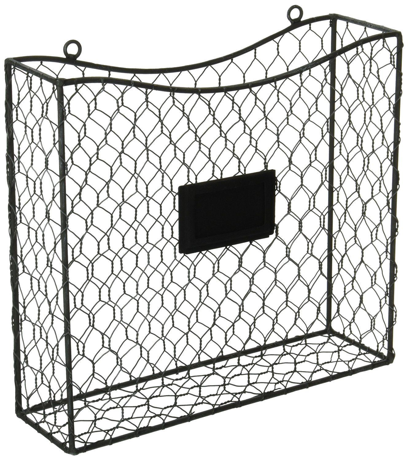 Amazon Country Rustic Gray Metal Wire Wall Mounted
