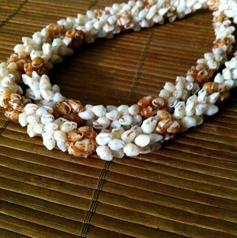 Shell Designs Lei Papa O Niihau Niihau Shell Designs Posted To Facebook By