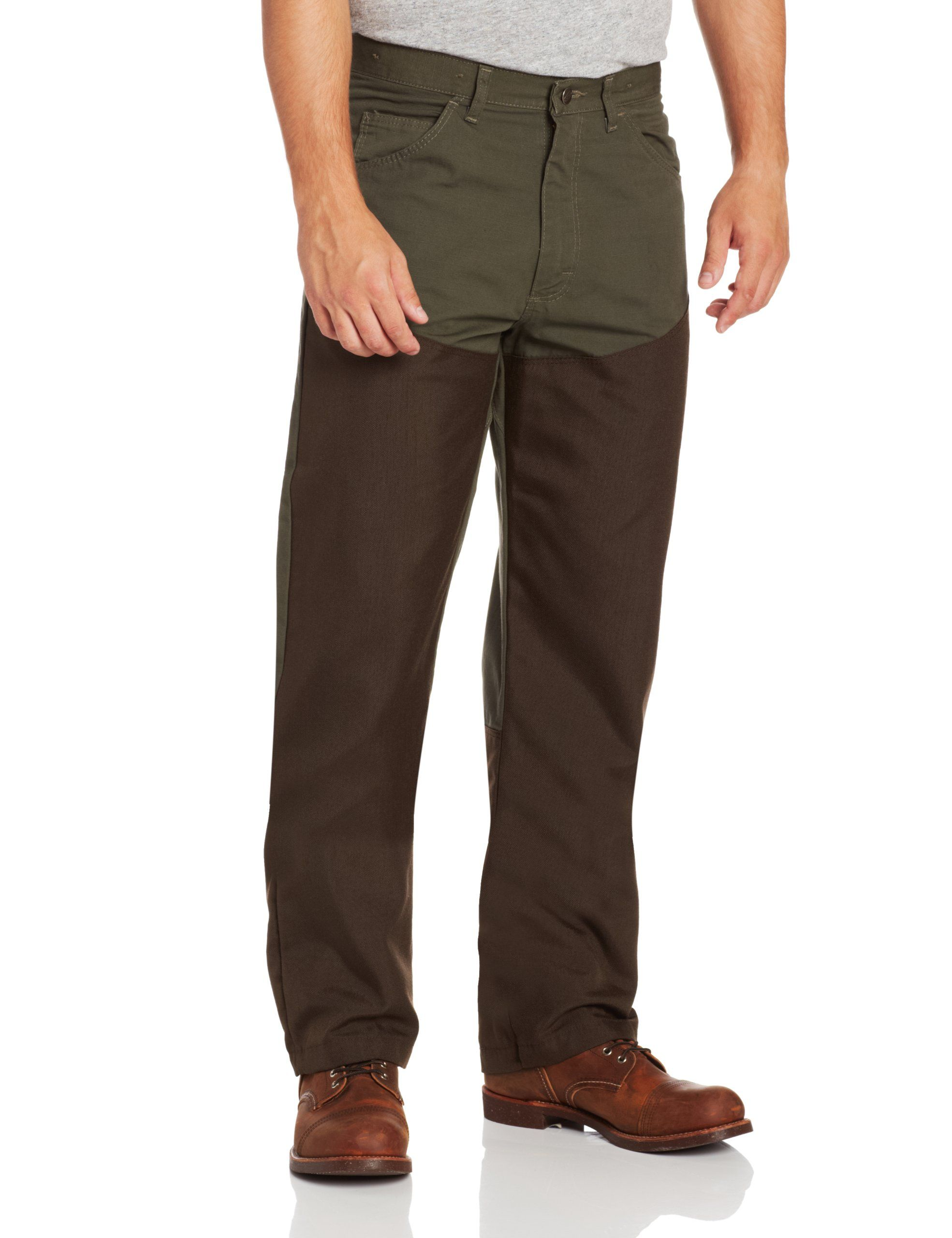 67b503cd93415 Amazon- Wrangler Men's ProGear Upland Jean at Amazon Men's Clothing store:  Briar Pants