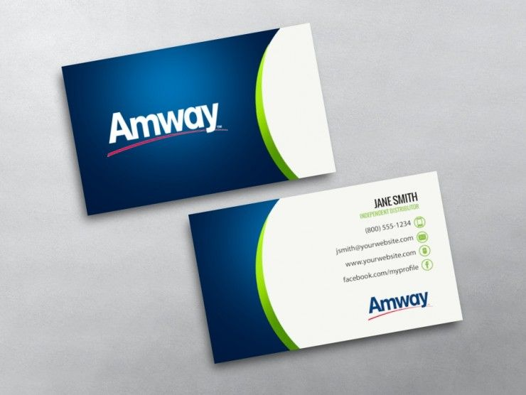 Amway Business Cards Free Shipping Amway Free Business Cards Amway Business