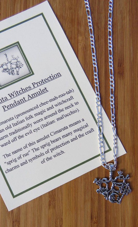 Welcome To My Listing Cimaruta Witches Protection Pendant Amulet