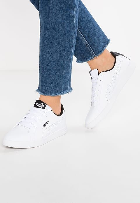 Puma SMASH PERF - Sneaker low - white