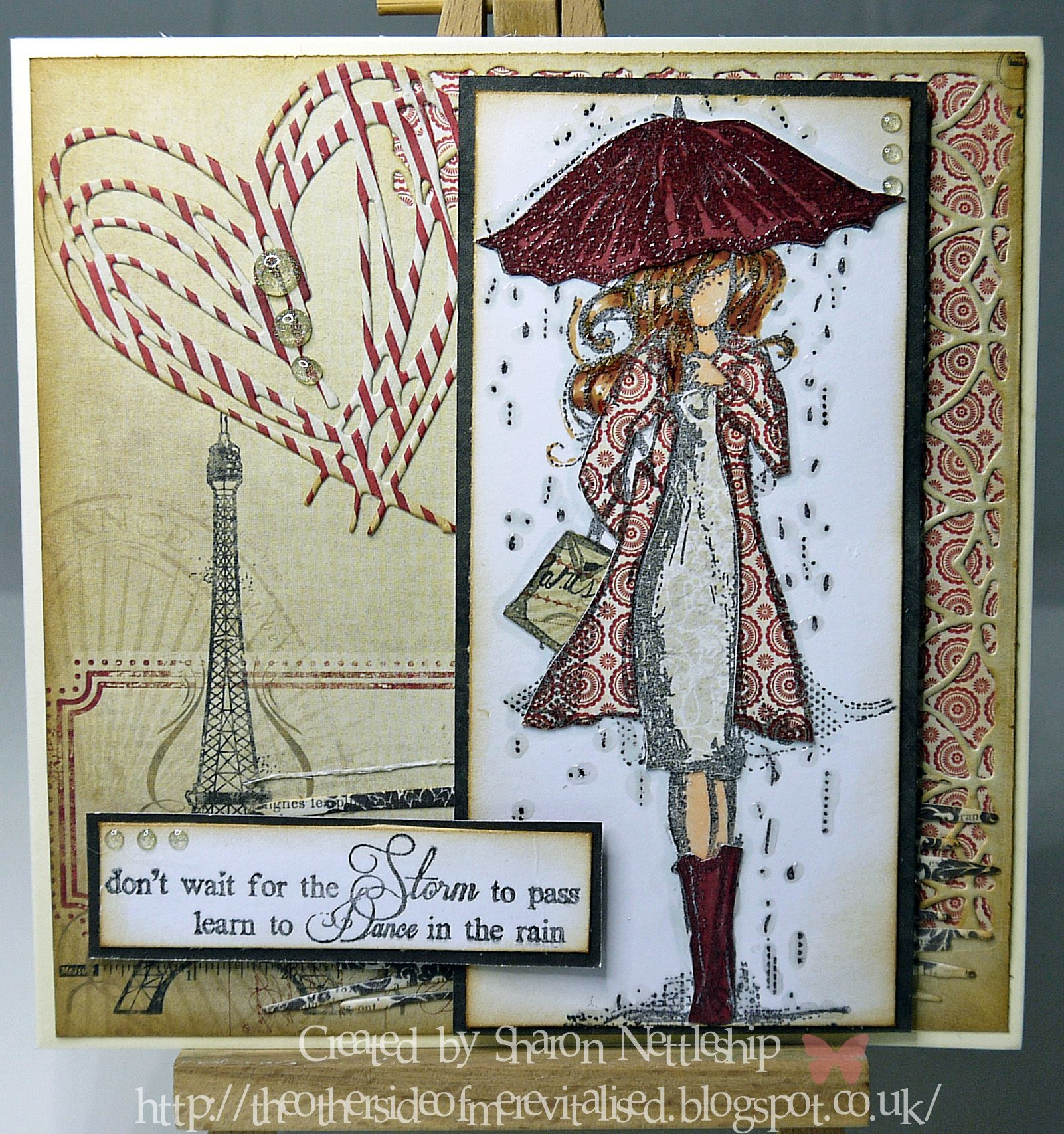 Unity stamp set - Harmony Girl, MME papers & Tim Holtz dies.