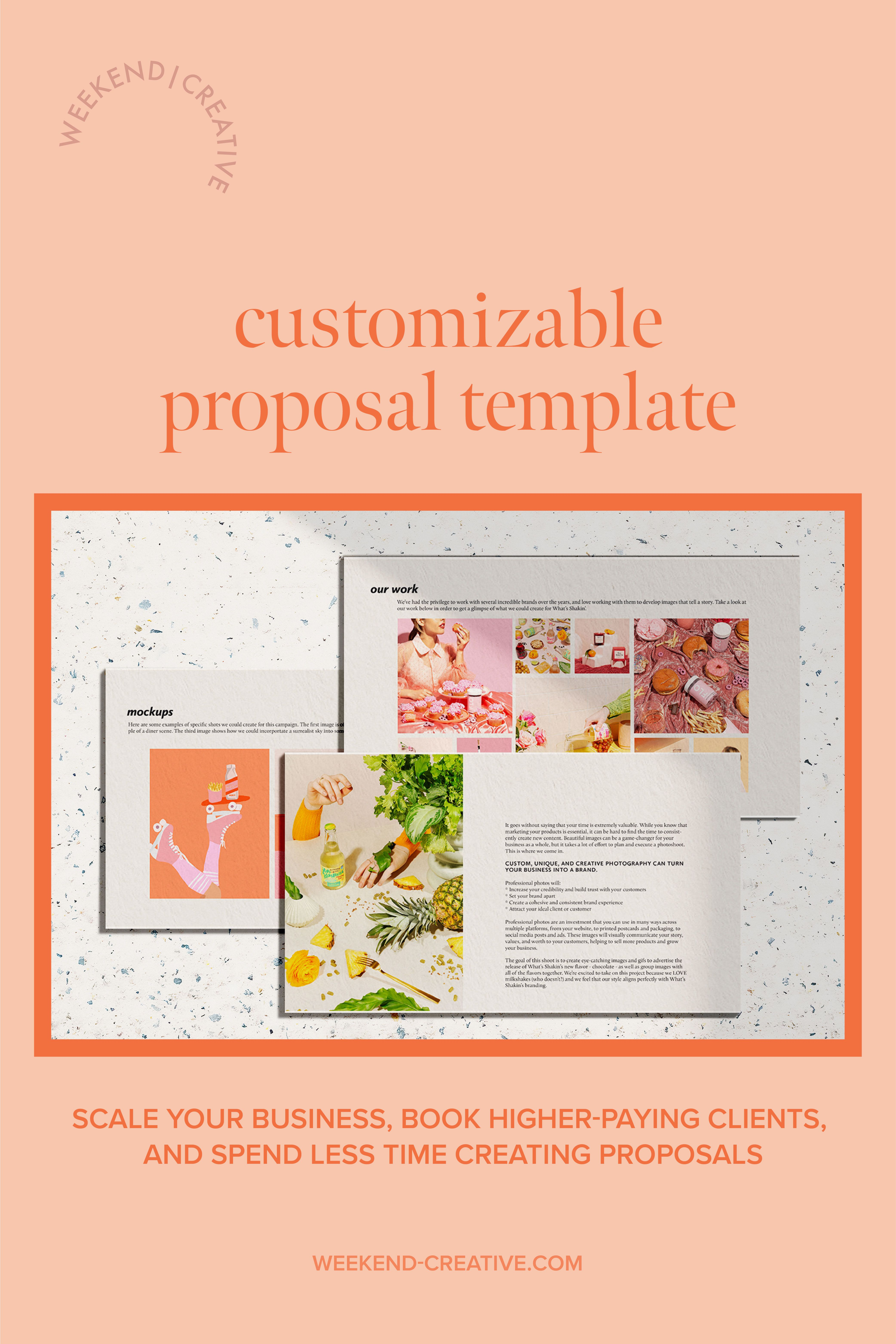 Weekend Creative Shop In 2020 Leaflet Layout Plant Projects Proposal Templates