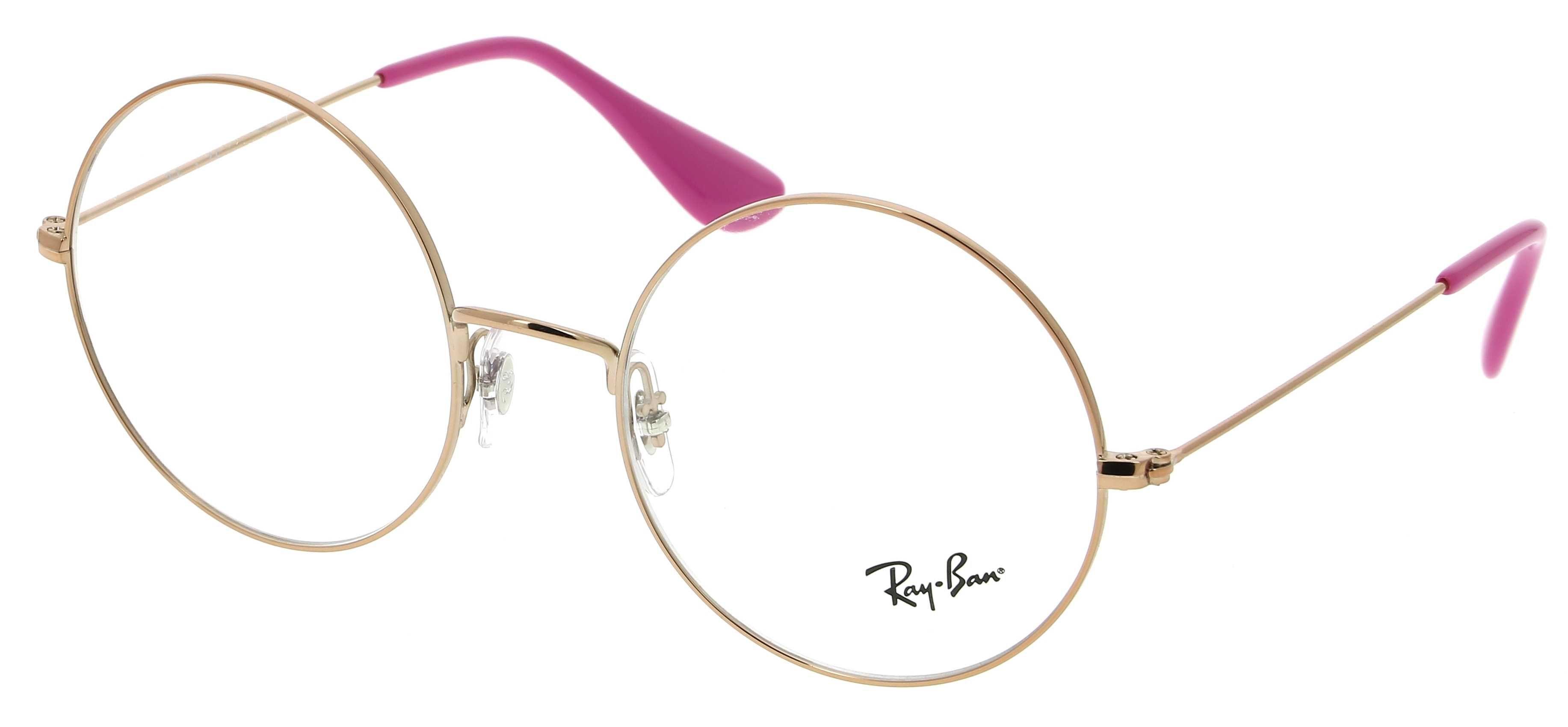 lunette de vue ray ban femme rose