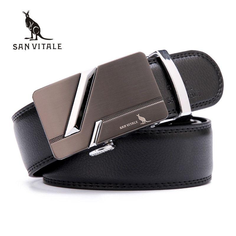New Luxury genuine leather Belts for man designer belt cowskin high quality