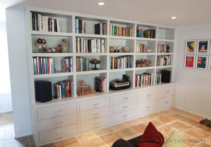 Furniture Tall Bookshelf With Books Full Bookcase Room