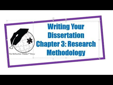 Dr Cheryl Lentz Chapter 3 Research Methodology Dissertation Writing Tip Tips Youtube