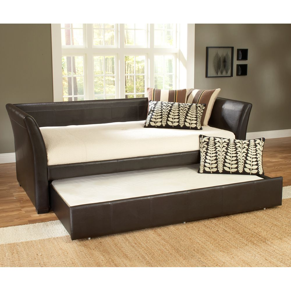 Malibu leather daybed by hillsdale furniture daybeds bedroom