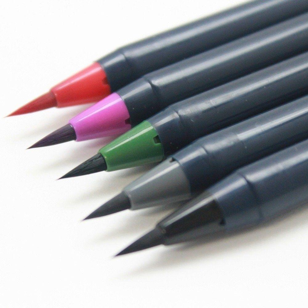Price Rs 950 Buy Akashiya Sai Colouring Brush Pen Winter Set