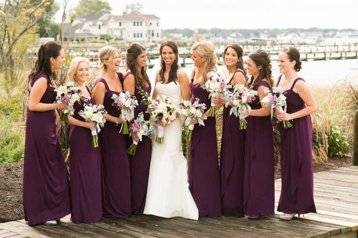 hitapr.net dark purple bridesmaid dress (12) #purpledresses ...