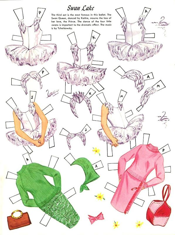 Paper Dolls~ Ballet - Bonnie Jones - Picasa Web Albums