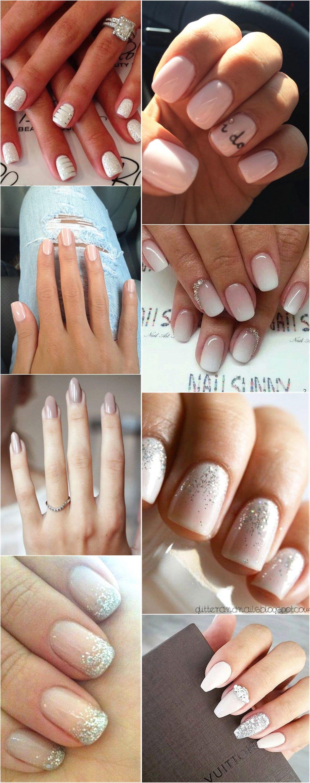 Our 20 Favorite Wedding Nail Art Designs | Wedding | Pinterest ...