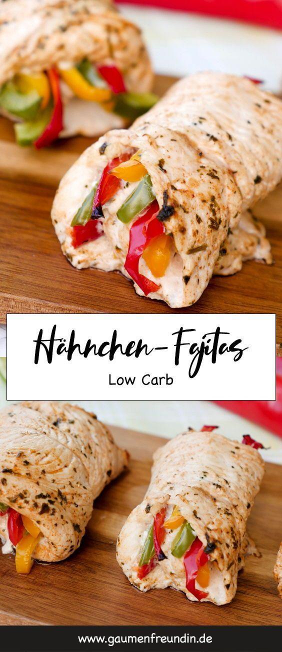 Photo of Fast low carb chicken fajita rolls with delicious Mari …