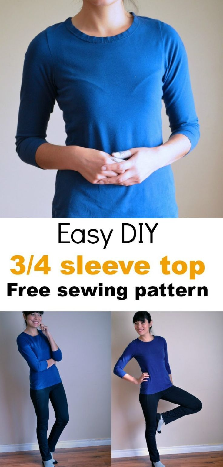 Easy 30 minutes Top Pattern for Women - On the Cutting Floor ...