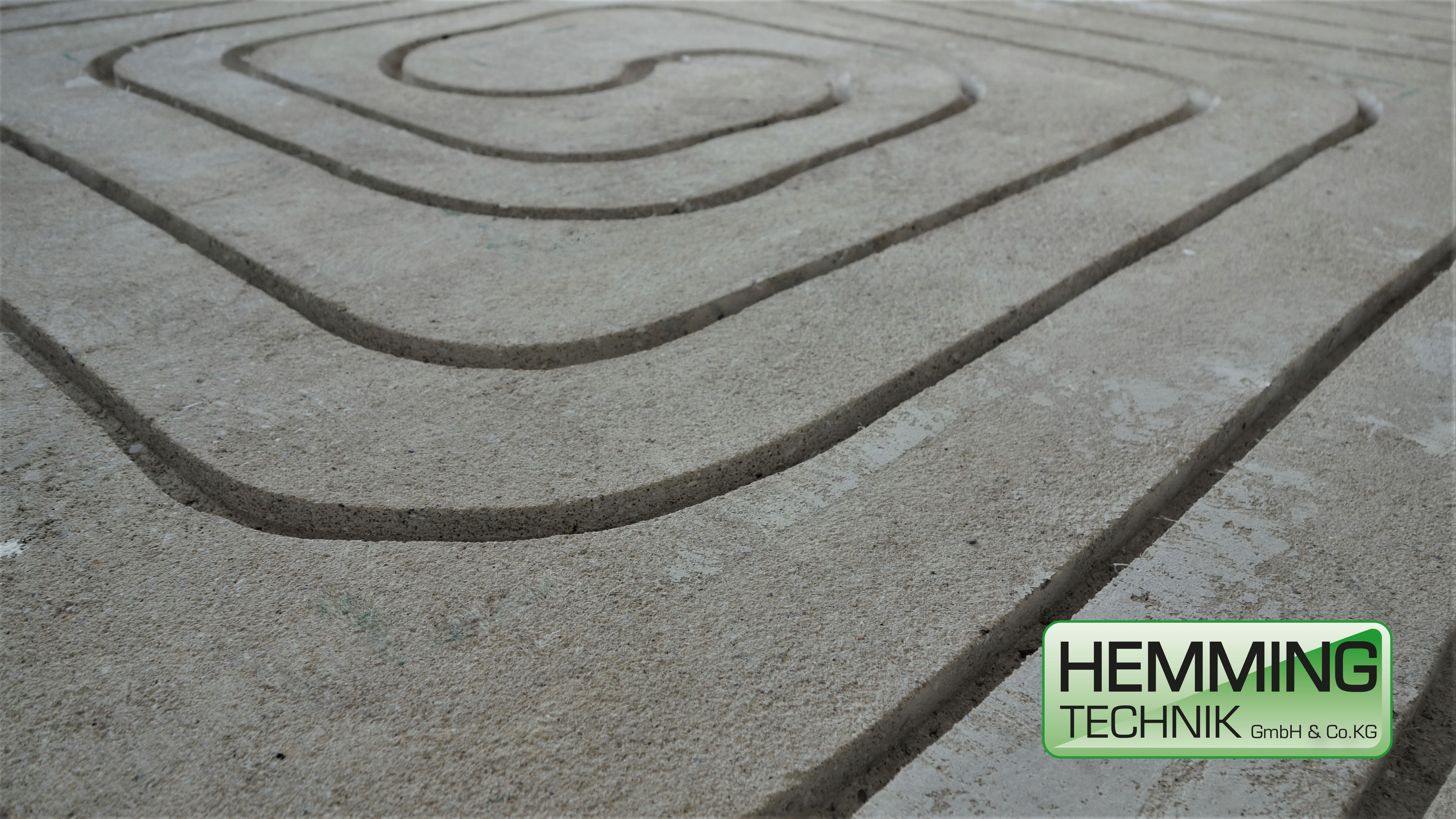 Fußbodenheizung Fräsen fussbodenheizung fräsen nachträglicher einbau einer fussbodenheizung