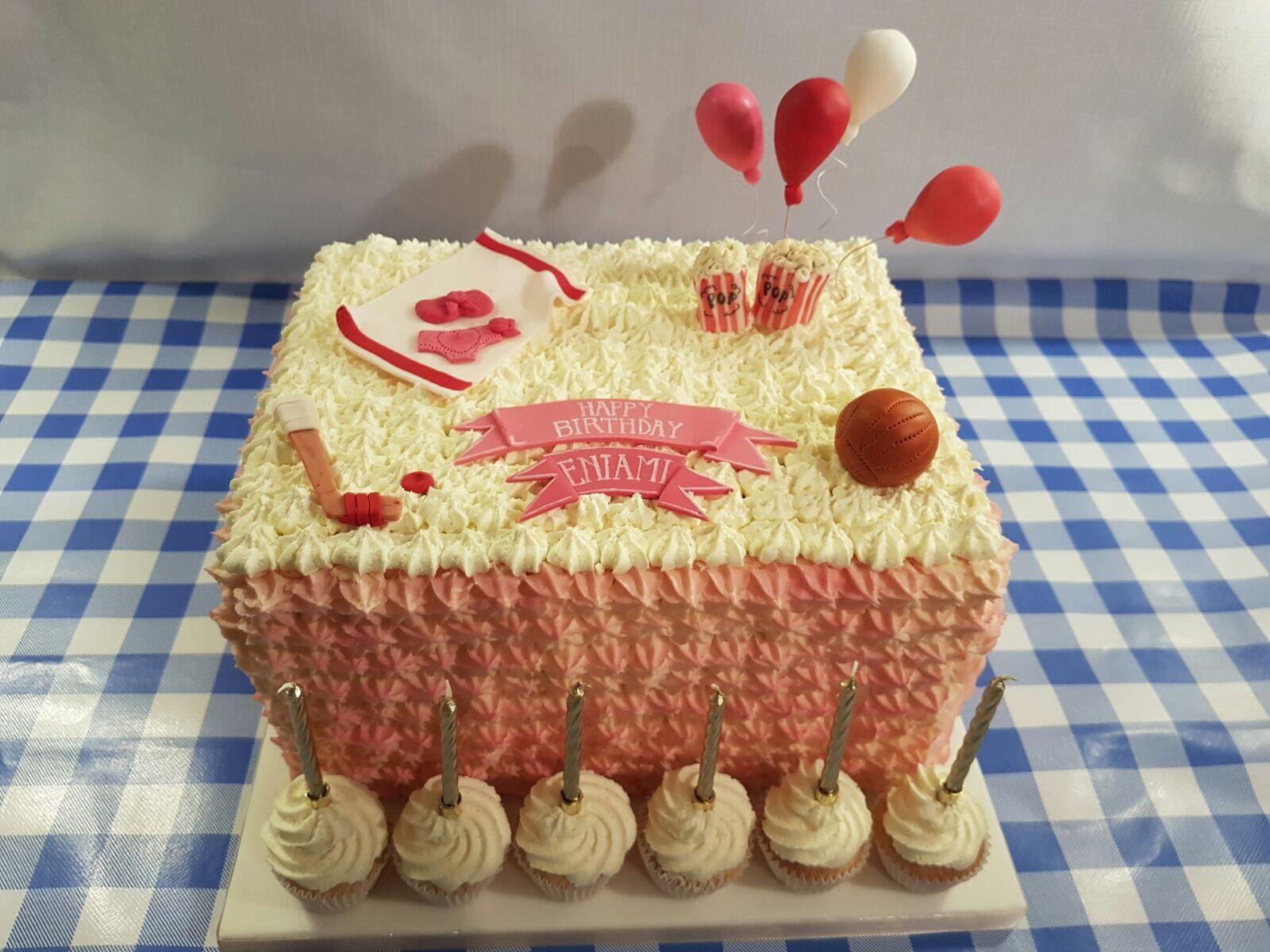 Yum yum buttercream birthday cake deliciousness 🎂 | C a k e s ...