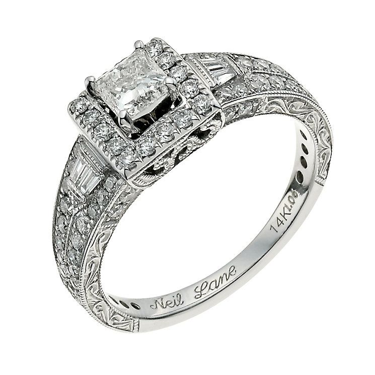 brides large engagement for jewelers neil editorial bridescom cut bridal kay emerald diamond images photos lane rings