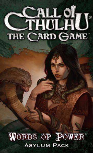 Call of Cthulhu: The Card Game – Words of Power Asylum Pack