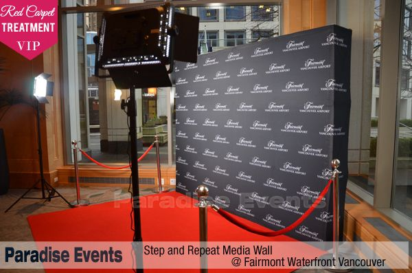 Step And Repeat Banner Red Carpet Backdrop Media Wall Printing Red Carpet Backdrop Red Carpet Party Hollywood Party Theme