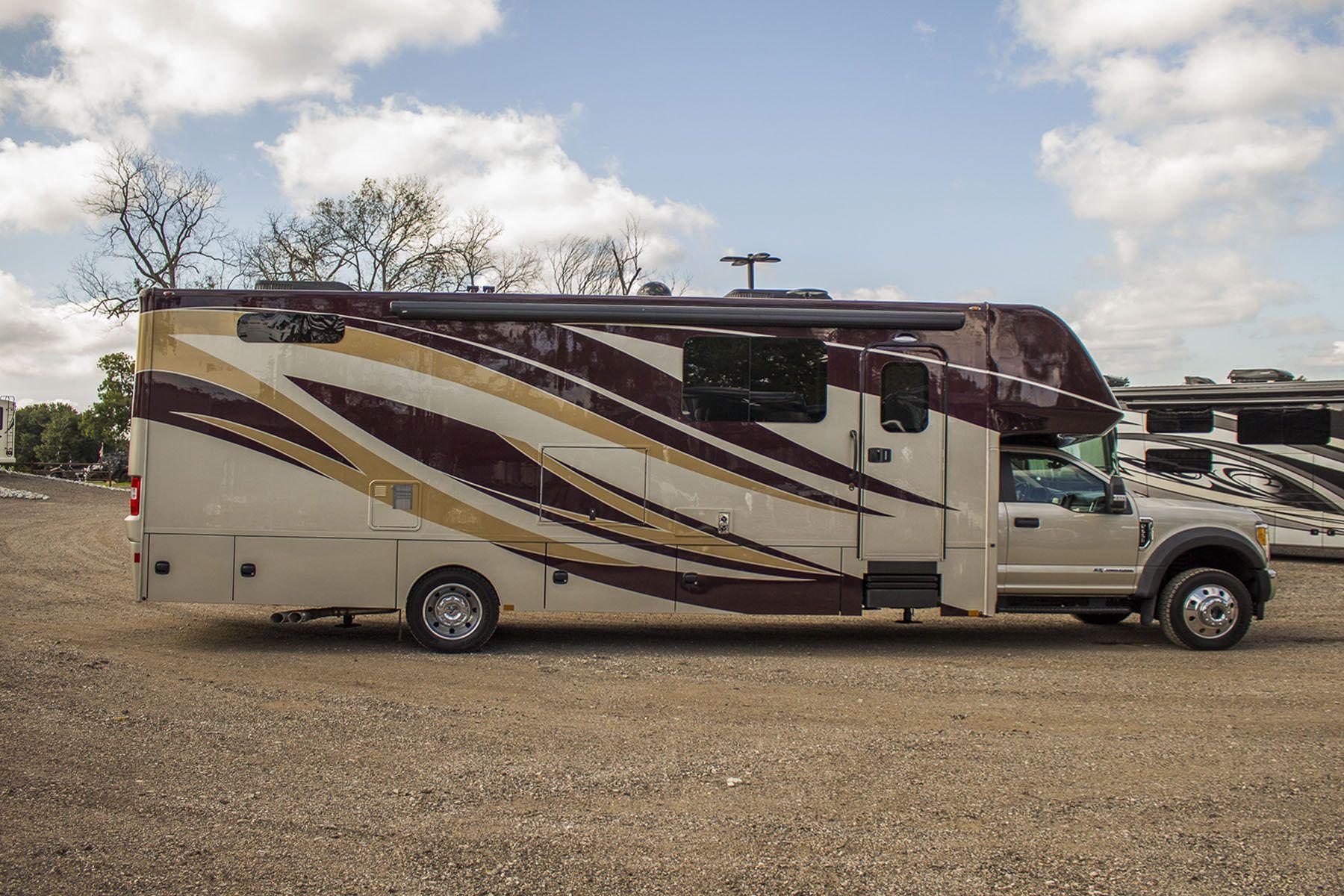 The all new 2019 Renegade VeraCruz 35FWS Motorhome built on