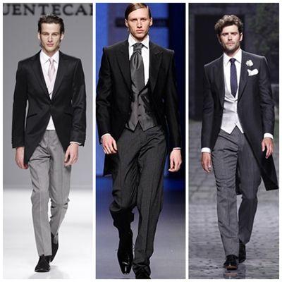Tendencias en trajes de novios de 2013: el chaqué