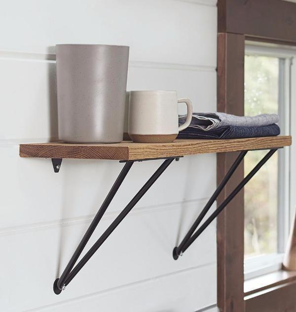 Adams Shelf Supports Set Of 2 In 2020 Shelf Brackets Shelves Shelf Brackets Design