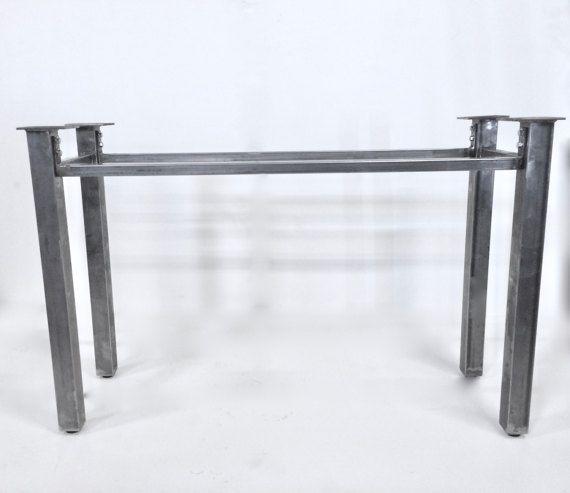 metal table legs, table frame, metal table base, steel table legs