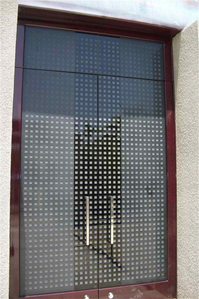 Frosted Etched Glass Door Squares