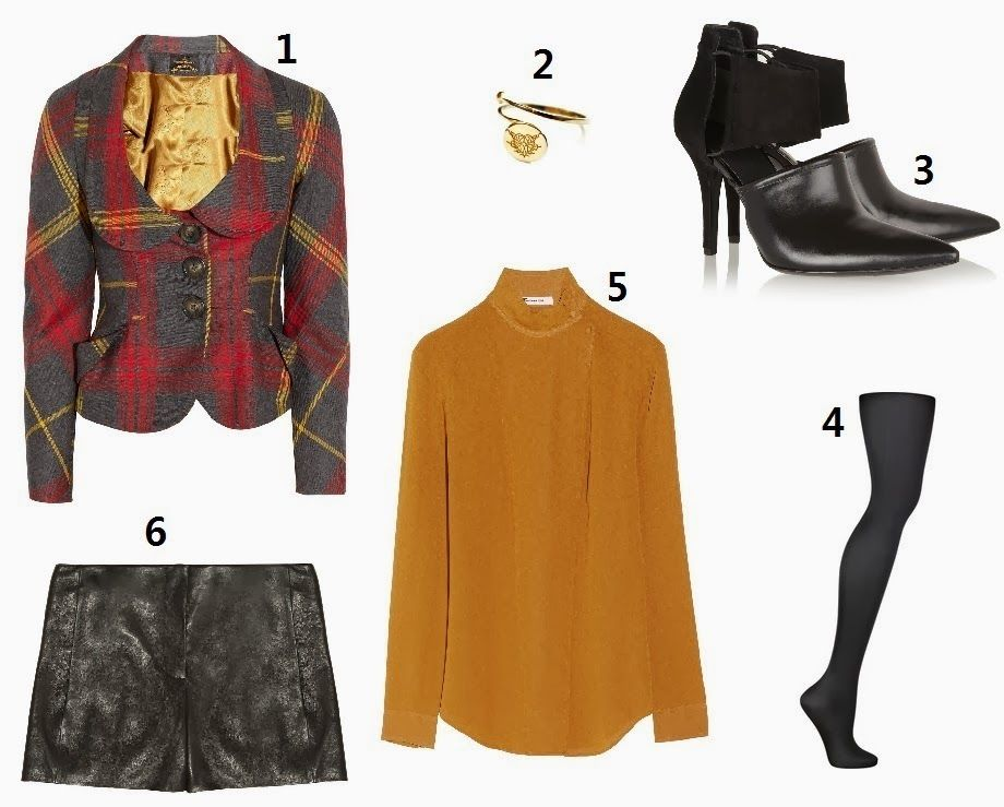 Easy-to-wear Autumn Look http://paarjoyeriamexicana.blogspot.co.uk/2013/10/easy-to-wear-autumn-look.html