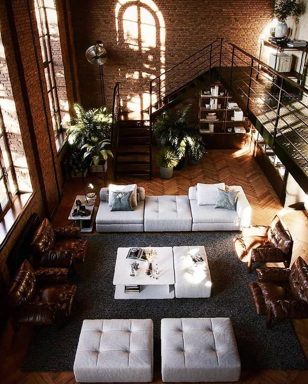 40 Loft Living Rooms That Will Blow Your Mind Living Room Loft Loft Living Loft Style Apartments Living in a loft