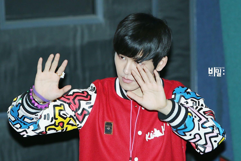 150207 #인피니트H – Yongsan Fansign Event ❤