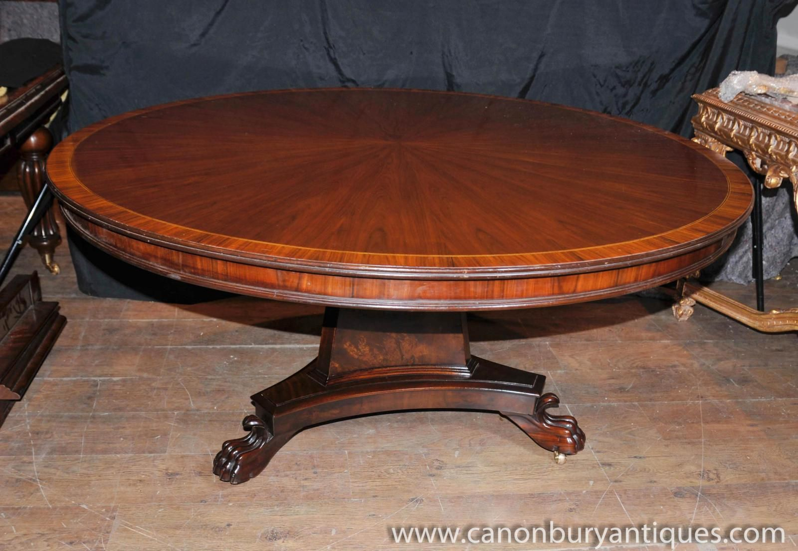 Photo Of Regency Round Centre Table Dining Tables Rosewood