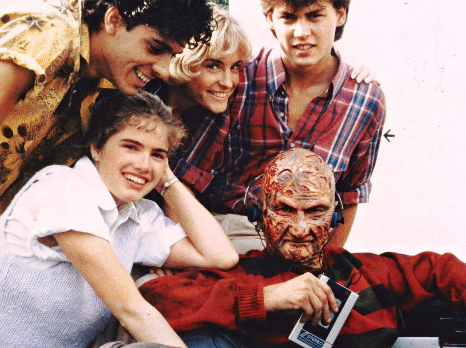 Behind The Scenes With The Cast Of A Nightmare On Elm Street 1984