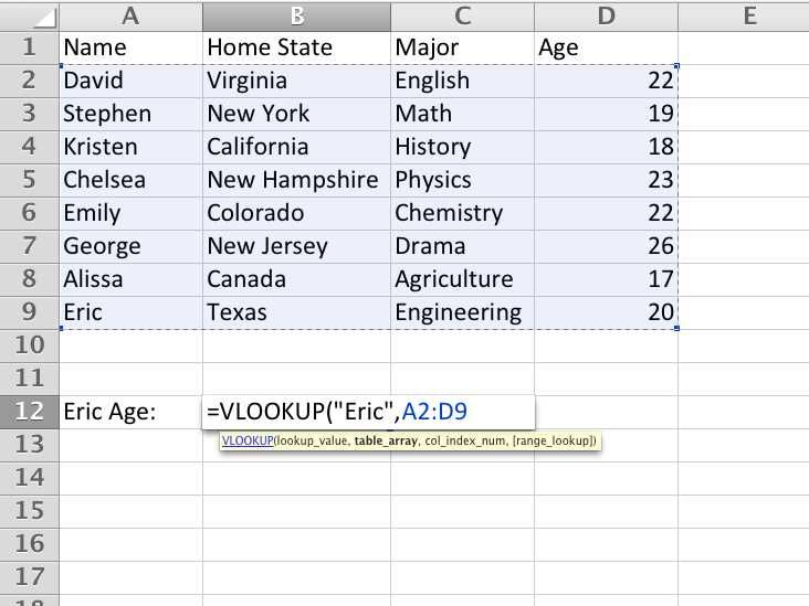 This Excel Trick Will Make You Forget About VLOOKUP Microsoft - example method statements