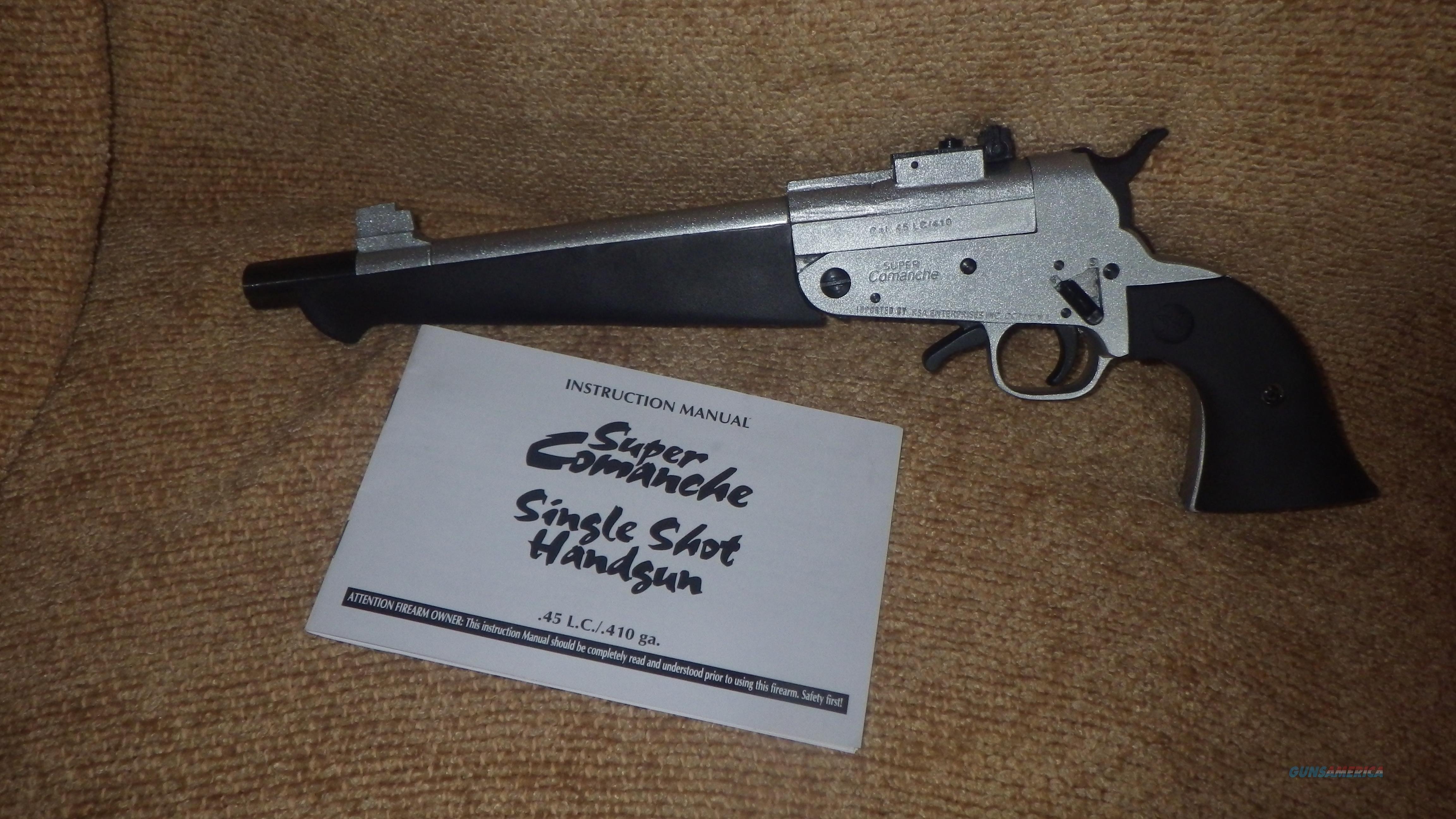 Super Comanche .45LC / 410 ga