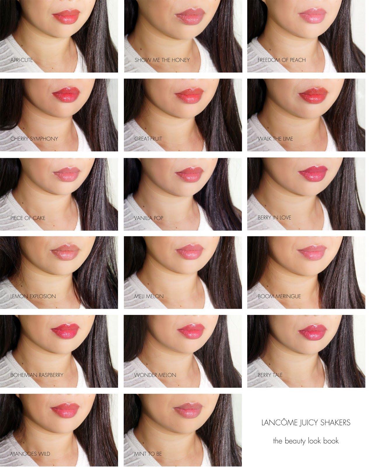 Lancome Juicy Shaker Pigment Infused Bi Phase Lip Oil Trish McEvoy Beauty Booster Lip Balm SPF15 0.20oz (5.67g)