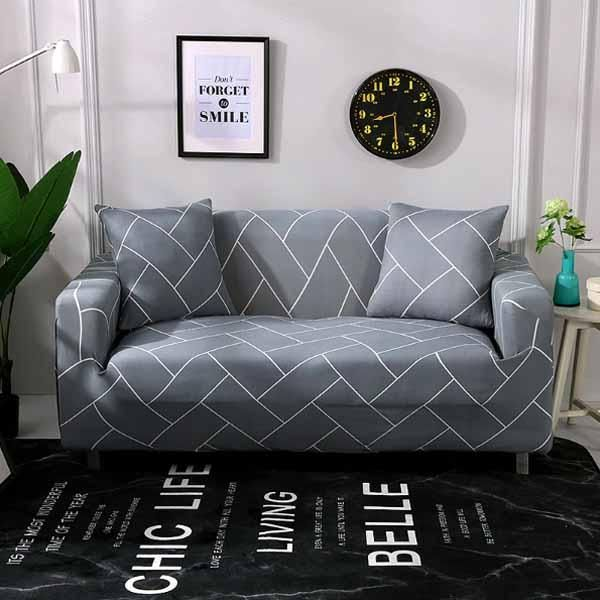 Patterned Sofa Cover Homebarn In 2020 Couch Covers Furniture Covers Slipcovers Sofa Covers