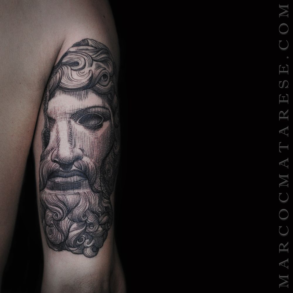 Etching black tattoo sculpture Marco Matarese | Ink | Pinterest