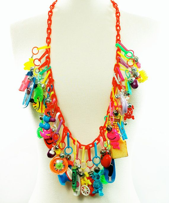 Ultimate 80's CHARM Necklace