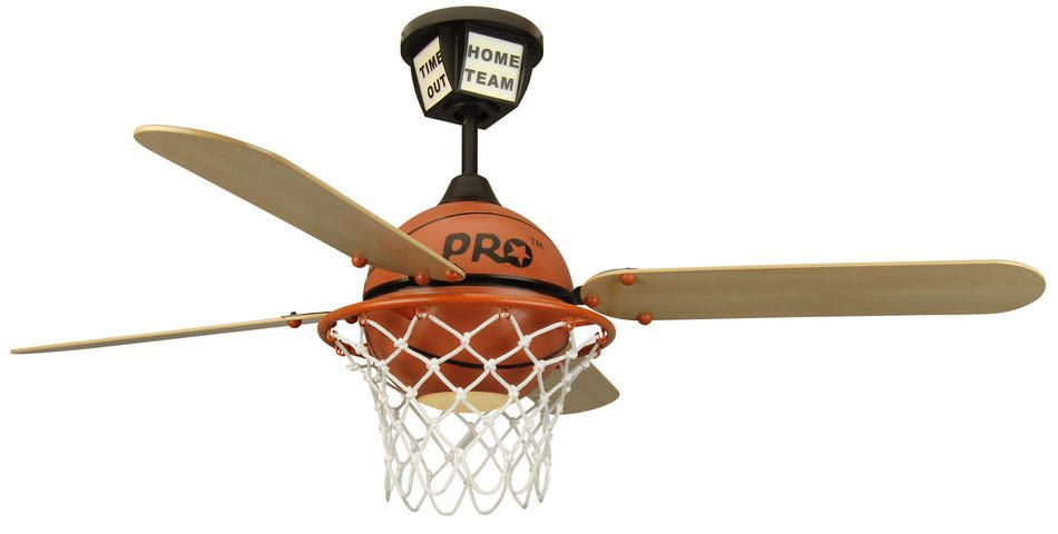 Shown in picture: Craftmade Ceiling Fan Model PS52BB -  (click on picture to close)