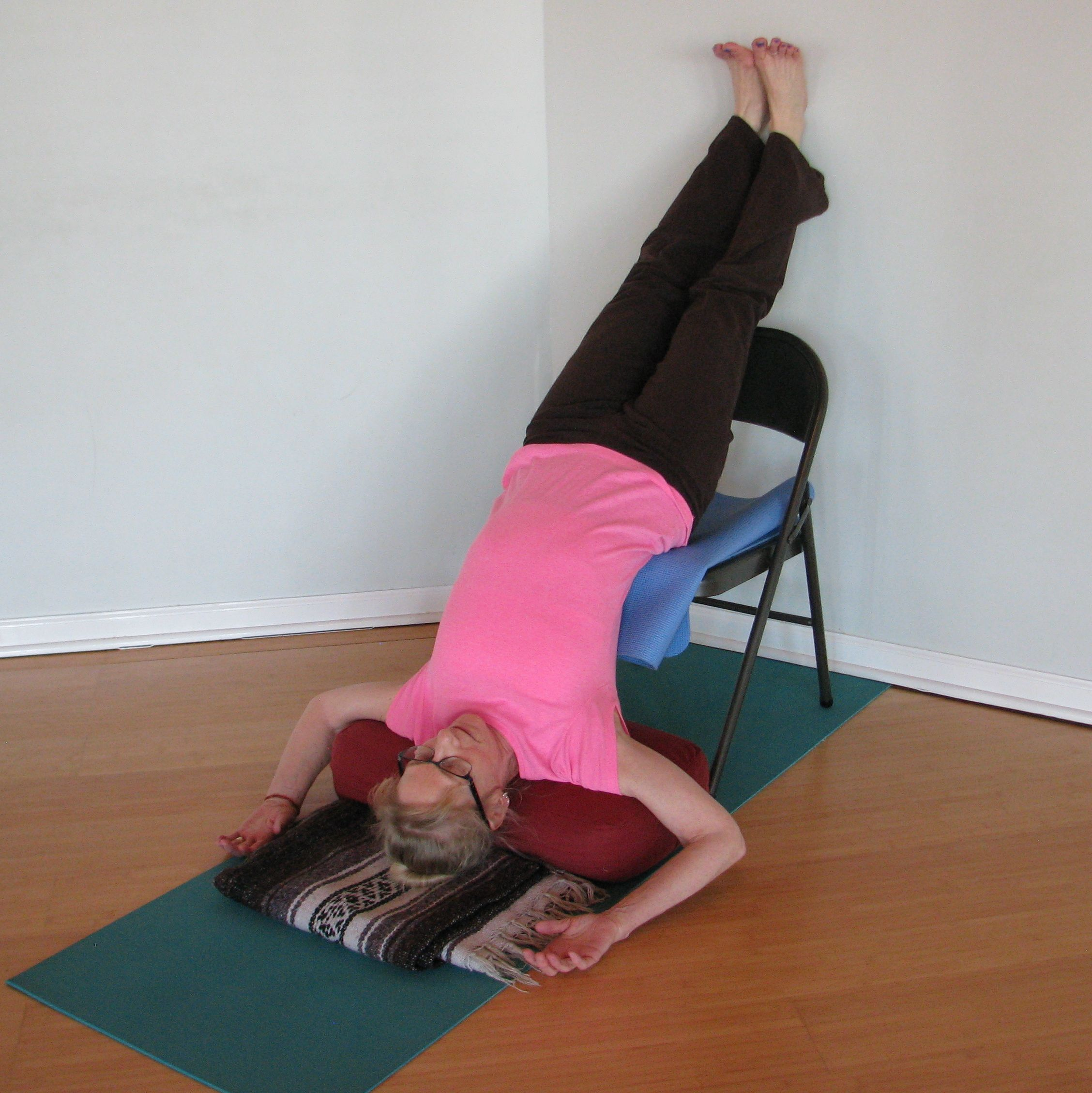 Shoulder Stand With Chair