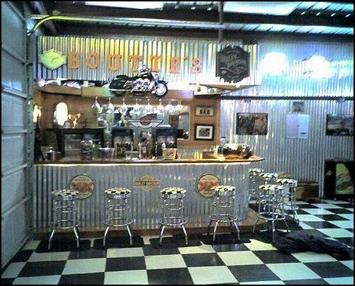 Garage man cave ideas 50s style man cave garage for 50s room decor
