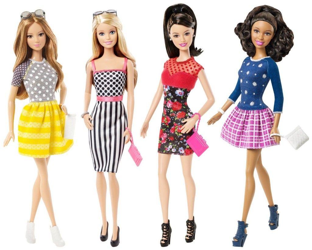Barbie Fashionistas Barbie Doll # 23 Petite Love that Lace Short Hair New